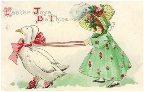 Easter Victorian and Vintage Cards – Victorian Easter Cards