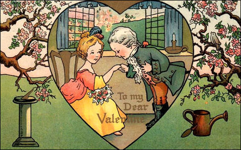 Victorian Valentine and Vintage Cards and Images – Vintage Victorian Valentine Cards